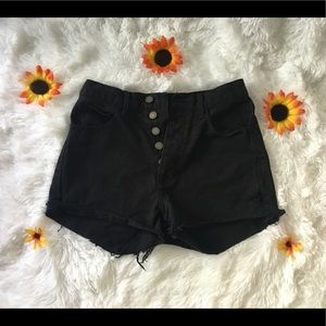 ADORABLE HIGH WAISTED JEAN SHORTS